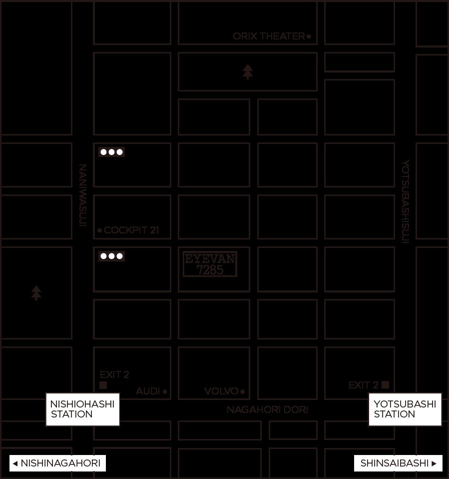 EYEVAN 7285 OSAKA MAP